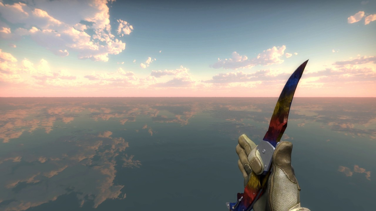 Falchion Knife Marble Fade Factory New Youtube