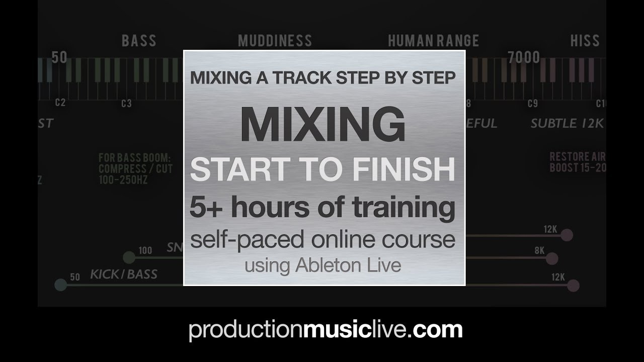 How To Mix Vocals: Hip Hop Vocal Mini Series in Ableton Live