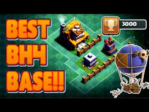 Thumbnail: MOST EPIC BUILDER HALL 4 (BH4) BASE W/PROOF! | CLASH OF CLANS: UNDEFEATED ANTI - 2 STAR BH4 BASE!!
