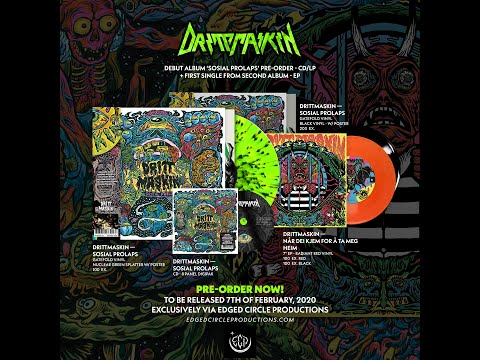 DRITTMASKIN - New releases Worldwide - Pre-Order via Edged Circle Productions