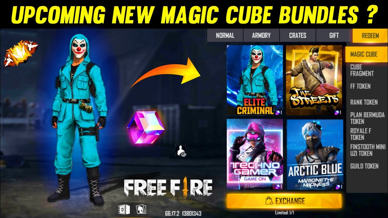NEXT MAGIC CUBE BUNDLE || UPCOMING NEW MAGIC CUBE DRESS || LUCKY WHEEL DISCOUNT EVENT || NEW UPDATE