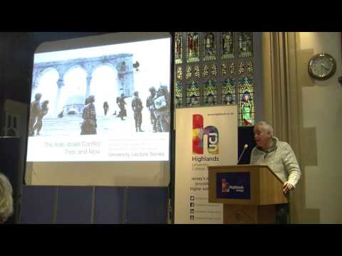 'The Arab-Israeli Conflict Then and Now' w/ Professor Ilan Pappe