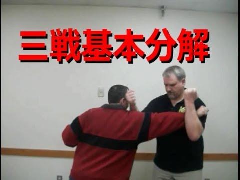 Sanchin Basic Analysis [Bunkai] (三戦基本分解)
