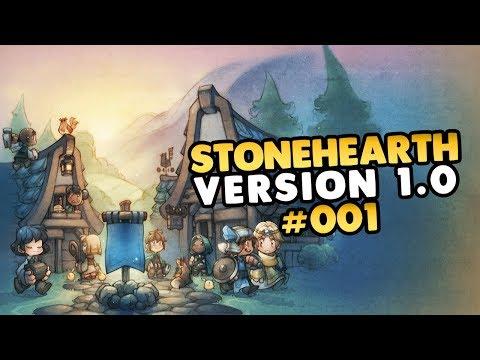 Lets Play Stonehearth 1.0 Release Version 👑 #001 [Gameplay][Deutsch][German]