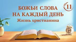 Слово Божье | «Познание трех стадий Божьей работы — это путь к познанию Бога» | (отрывок 11)