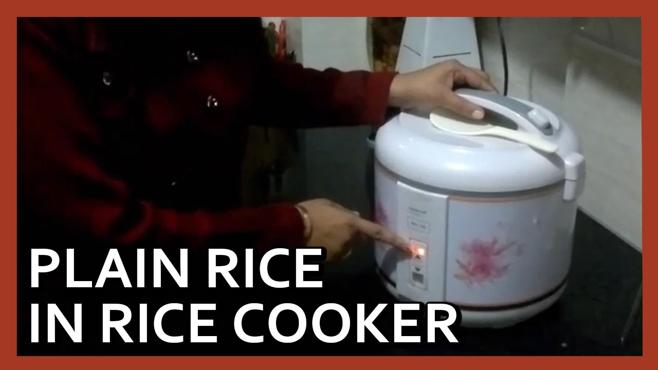 5b463f0691b How to make rice in electric cooker | Electric Rice Cooker demo by Healthy  Kadai - YouTube