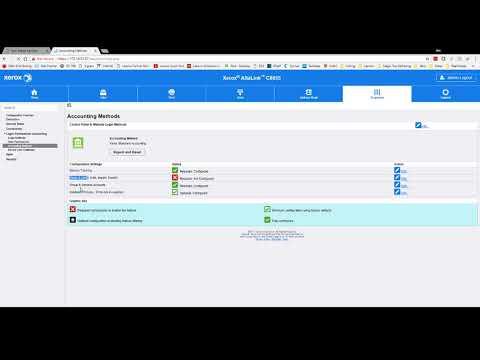 Xerox Standard Accounting -  AltaLink