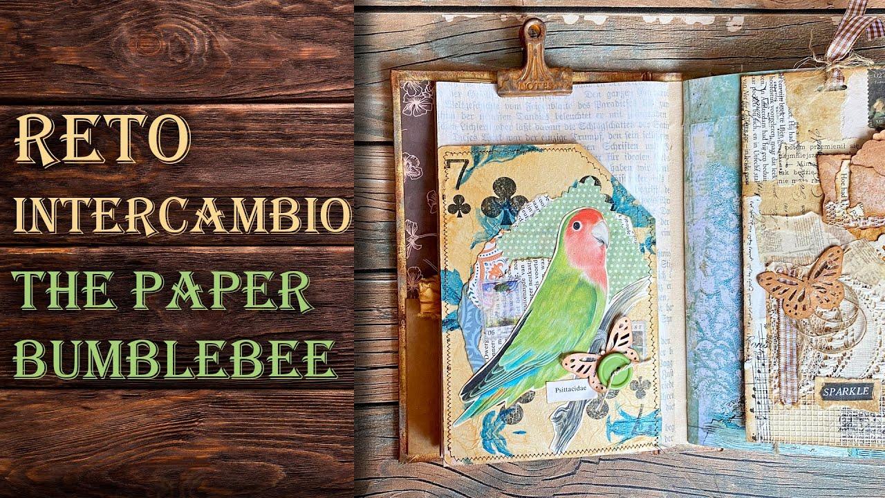 """Intercambio con """"The Paper Bumblebee"""""""
