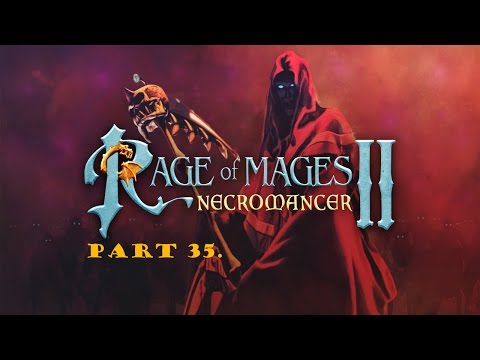 Rage of Mages II walkthrough part 35. (The King's Hunt)