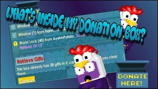 growtopia what s inside my donation box 1