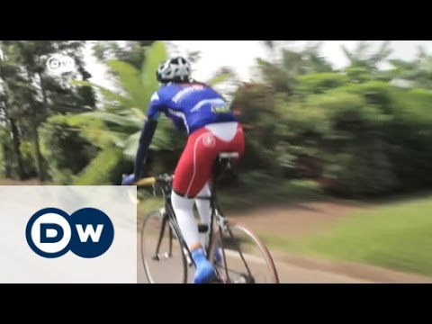 Team Rwanda's only female member | DW News