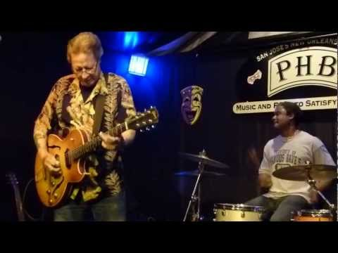 "Ron Hacker and the Hacksaws at Poorhouse Bistro ""Nadine"" 3-21-13"