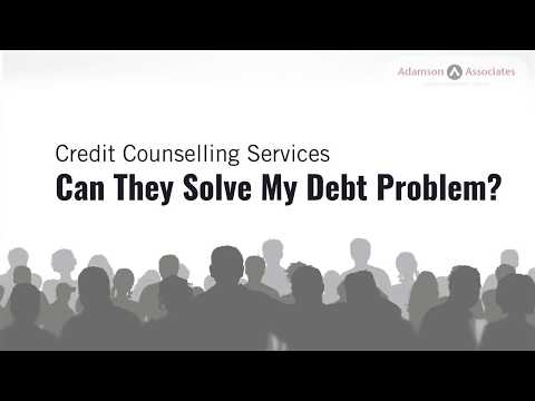 Credit Counselling Services: Can They Solve My Debt Problem