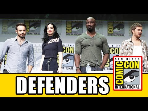 THE DEFENDERS Comic Con Panel News & Highlights