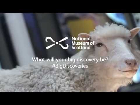 Make big discoveries at the National Museum of Scotland!