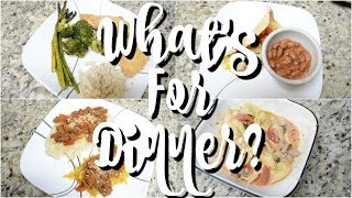WHAT'S FOR DINNER | EASY DINNER RECIPES | WORKING MOM WHAT'S FOR DINNER | AFFORDABLE DINNER MEALS!