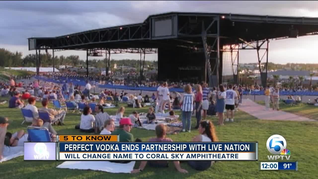 Perfect Vodka Amphitheatre Changes Its