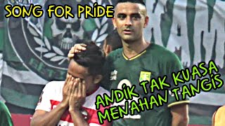 Download Tangis Haru Andik Vermansyah Saat Nyanyikan Song For Pride