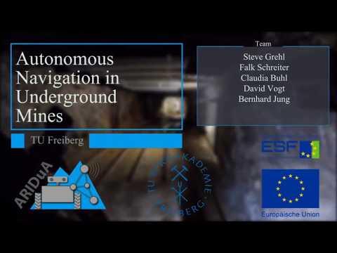 Autonomous Navigation in Underground Mines
