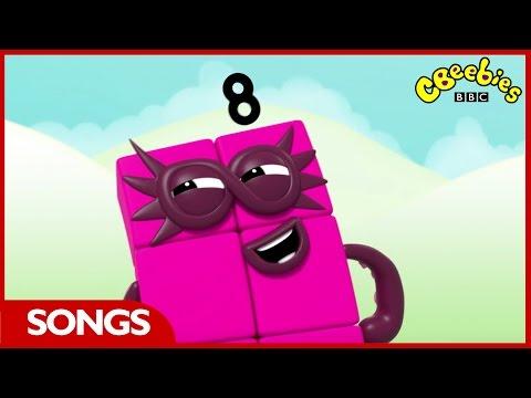 CBeebies | Numberblocks | Number Eight Song