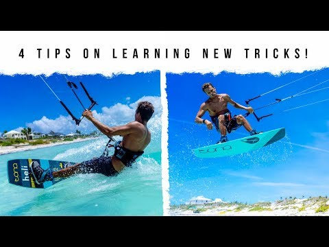 4 Tips That Will Help You Learn Any Kiteboarding Trick!