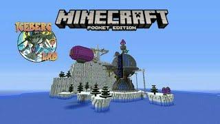 Minecraft PE : Crash Twinsanity - Iceberg Lab - Continuação do mapa!!!