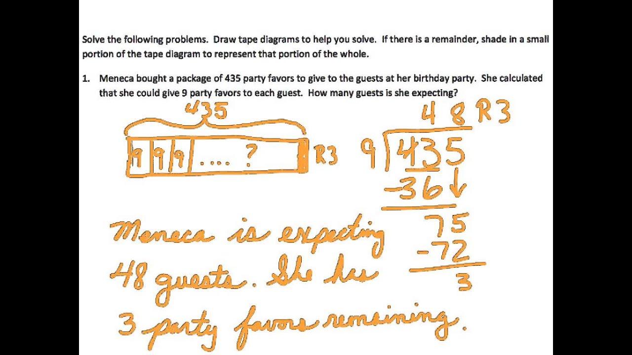 Eureka Mathematics Grades 5 Worksheet 35 Module 2 Eureka