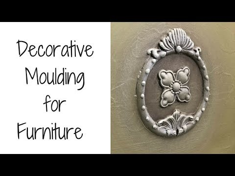 How To Add Decorative Mouldings for Amazing Furniture