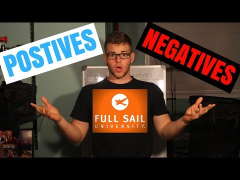 The Positives and Negatives of Full Sail University
