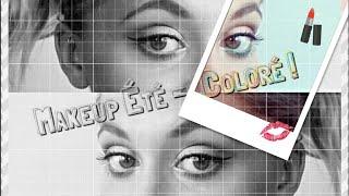 ♡ TUTORIEL Makeup | Facile & coloré  | De jour, comme de nuit !