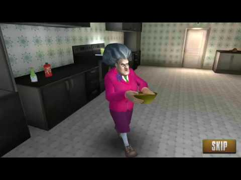 Scary Teacher 3D Simulation V5.0.2 ~ TROUBLE in a bowl #3 ~ Android, iOS Game