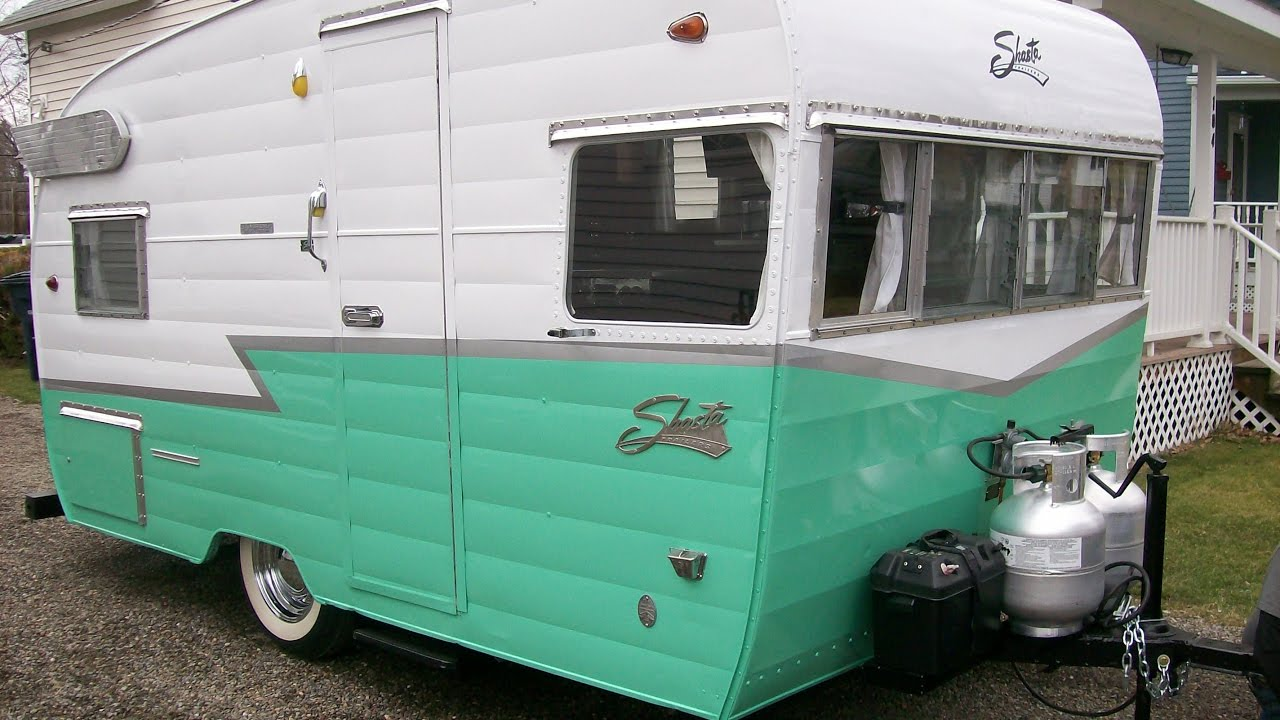 1962 Shasta Airflyte Trailer restoration