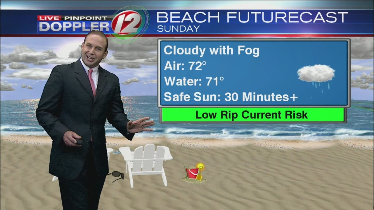 From Channel 12 Eyewitness News Meteorologist Matt Lagor here is the latest  Detailed 7-Day Futurecas