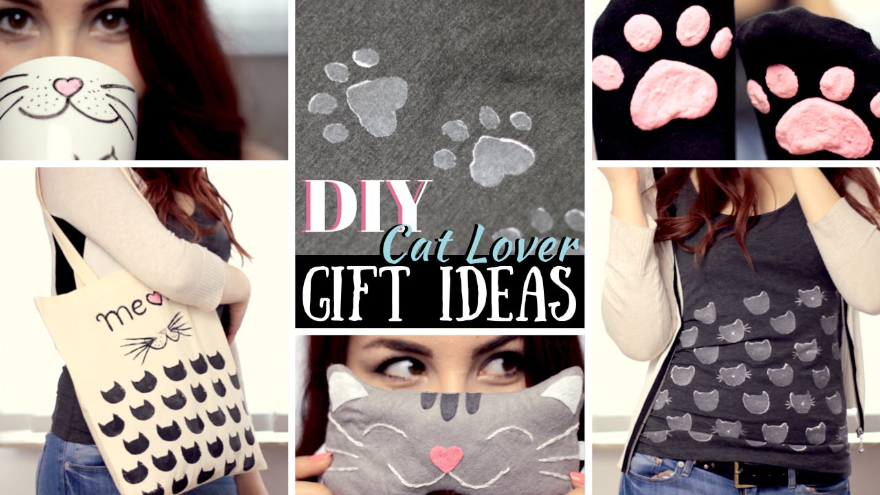DIY 5 Gift Ideas For Cat Lovers