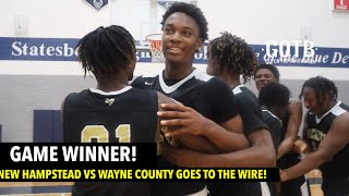 NEW HAMPSTEAD VS WAYNE COUNTY GOES DOWN TO THE WIRE!