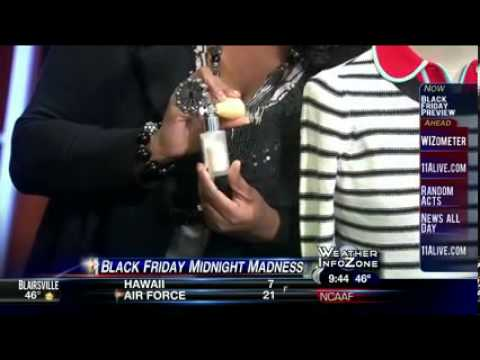 11172012 Wxia Black Friday At Lenox Square Mall Youtube