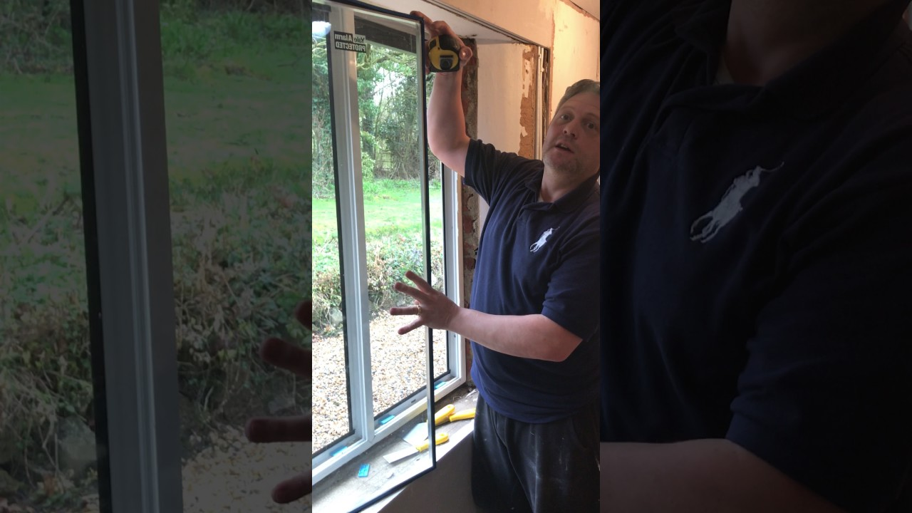 How To Replace And Measure Upvc Window Gl Sealed Units From Paneless