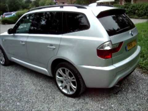 2006 bmw x3 3 0sd m sport auto twin turbo diesel youtube. Black Bedroom Furniture Sets. Home Design Ideas