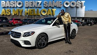 THis BASIC E400 BENZ COST A HELLCAT???