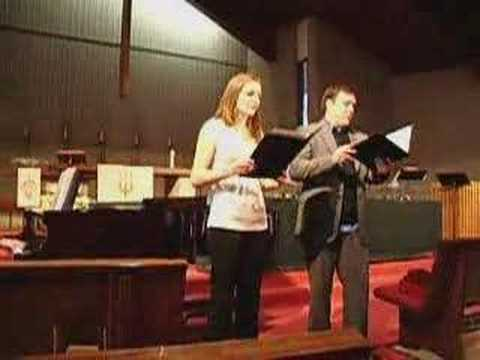 The Prayer, Corinne DeVries and Matt