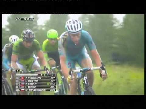 Lars Boom wint tour etappe / 09-07-2014