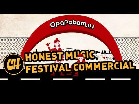 Honest Music Festival Commercial