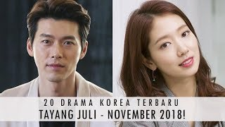 Video 20 DRAMA KOREA TERBARU TAYANG TAHUN 2018 PART 3! (JULI - NOVEMBER) download MP3, 3GP, MP4, WEBM, AVI, FLV November 2018