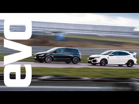Hyundai i30 N v Honda Civic Type R - evo DEADLY RIVALS