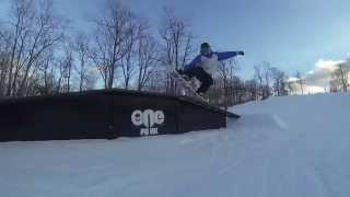 Snowboarding at Jack Frost PA 2015