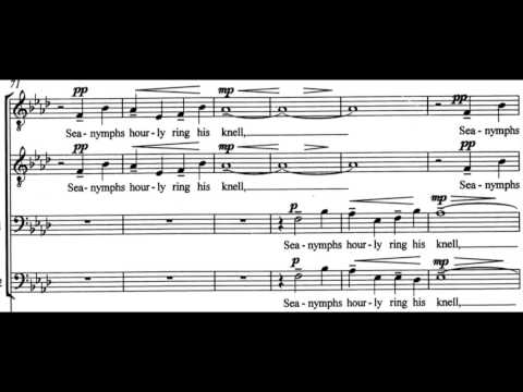 Learn Your Choir Part! Bass2 Full Fathom Five, Allan Bevan