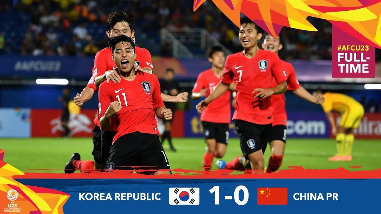 #AFCU23 : M06 KOREA REPUBLIC 1-0 CHINA PR : HIGHLIGHTS