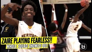 Zaire Wade Damn Near ENDS Defender's LIFE!! The Whole Squad SHOWED OUT!!