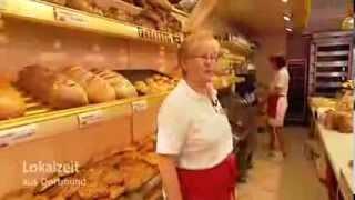 Die Bäckerei-Verkäuferin