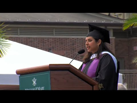 W&M Commencement '21: Dureja's student speech